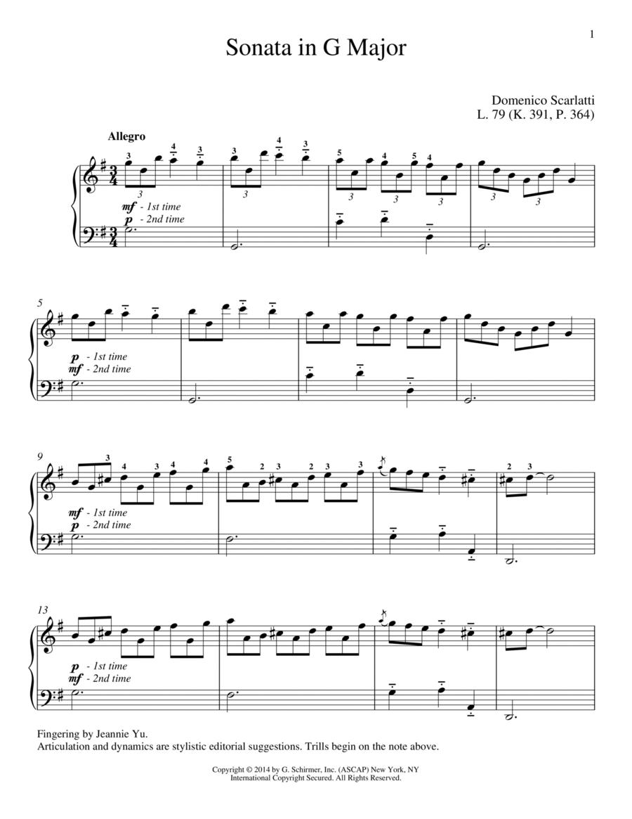 Sonata In G Major, L. 79