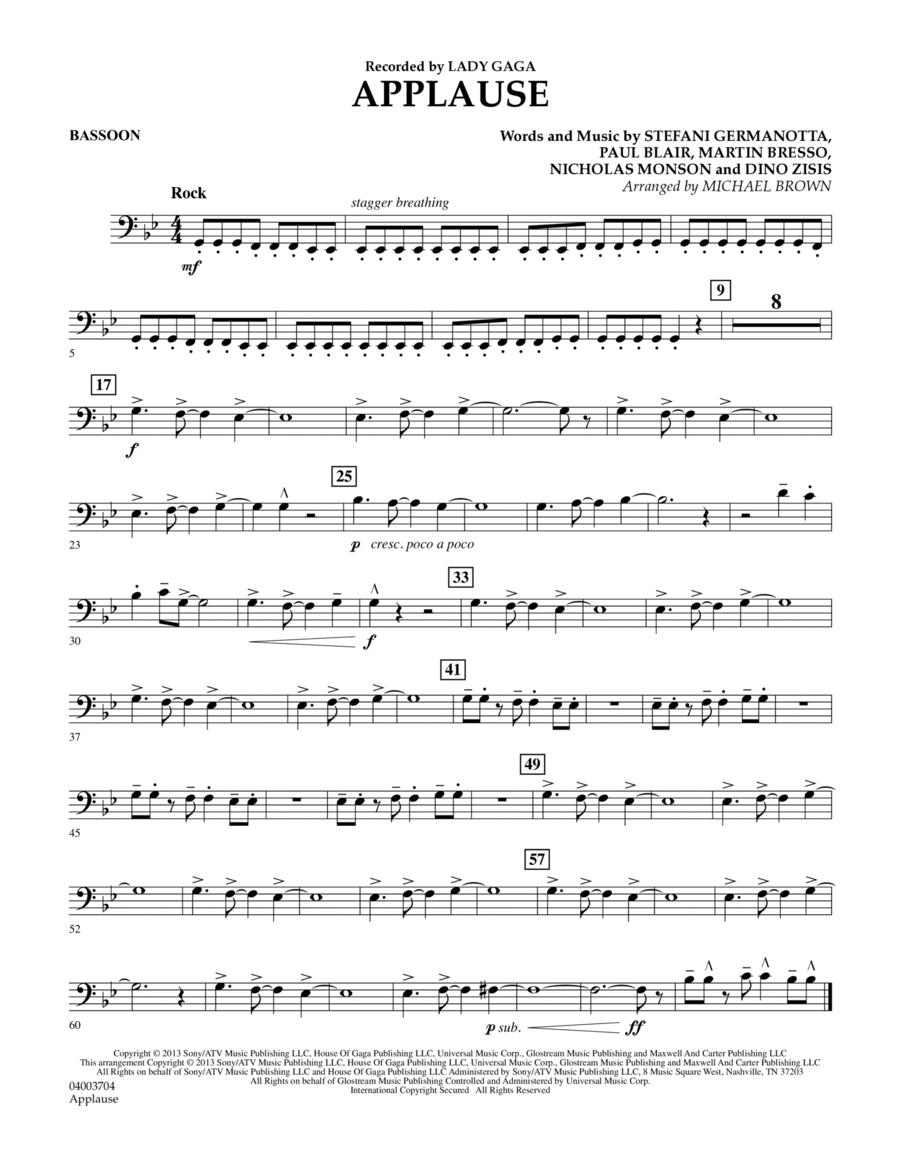Applause - Bassoon