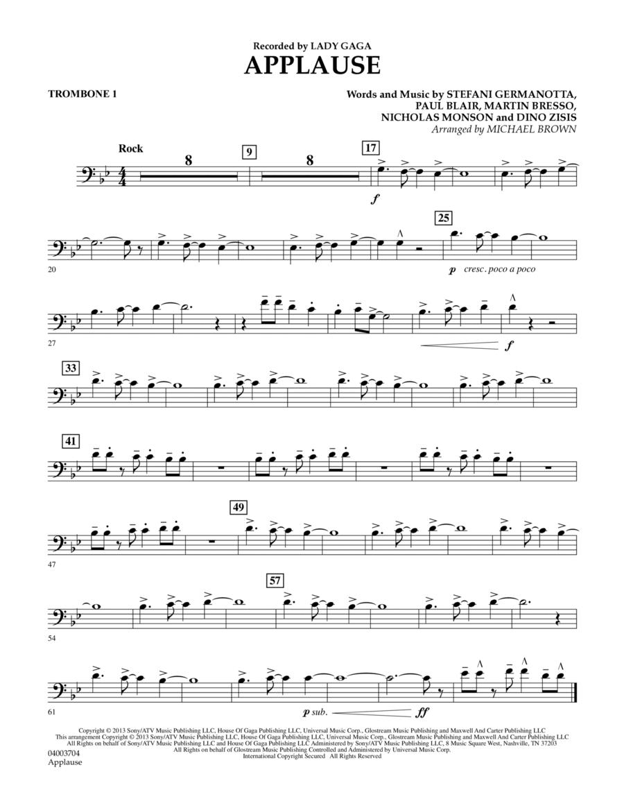 Applause - Trombone 1