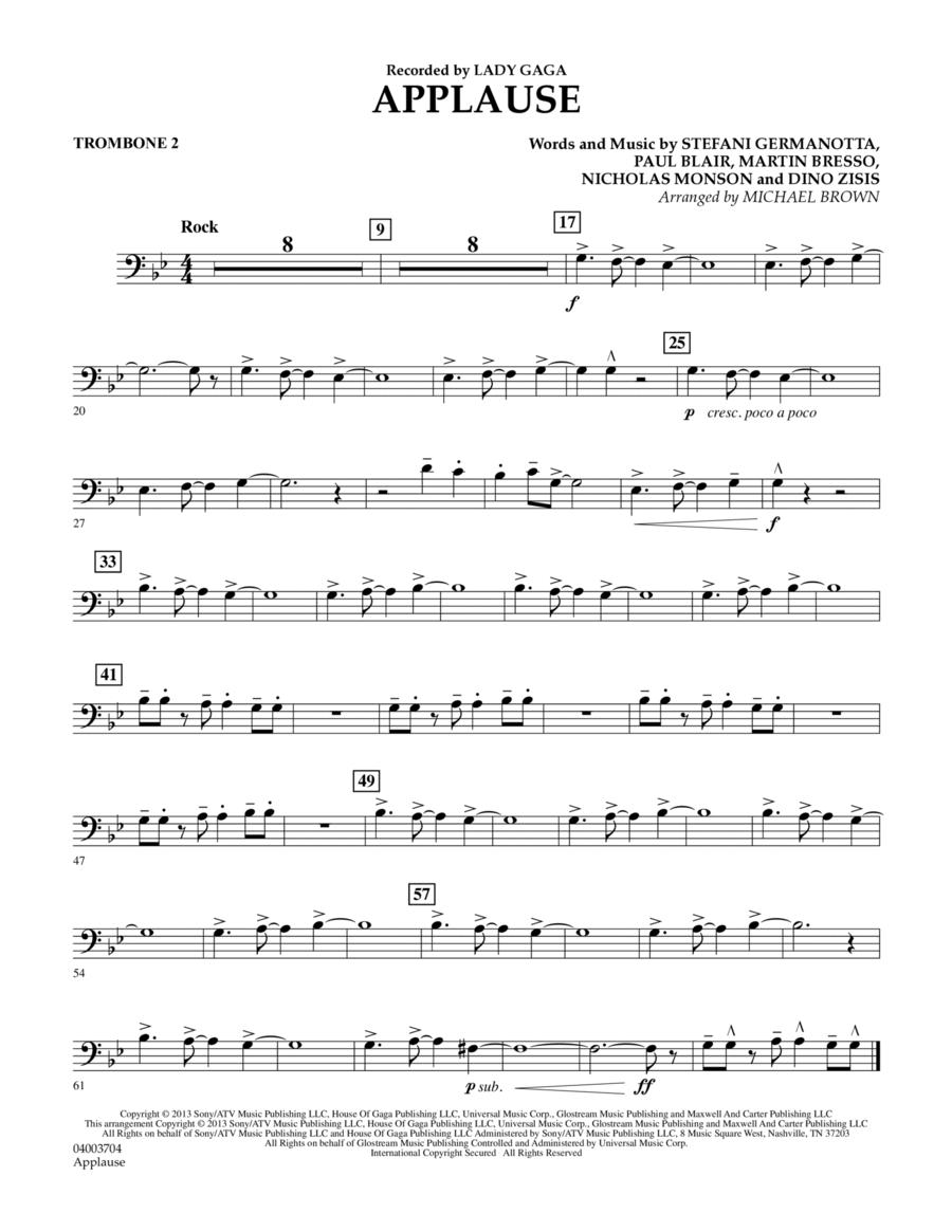 Applause - Trombone 2