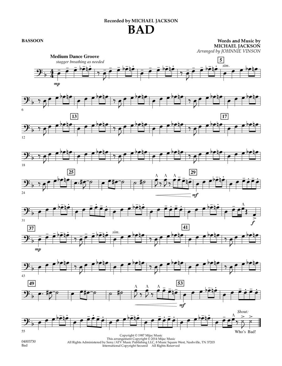Bad - Bassoon