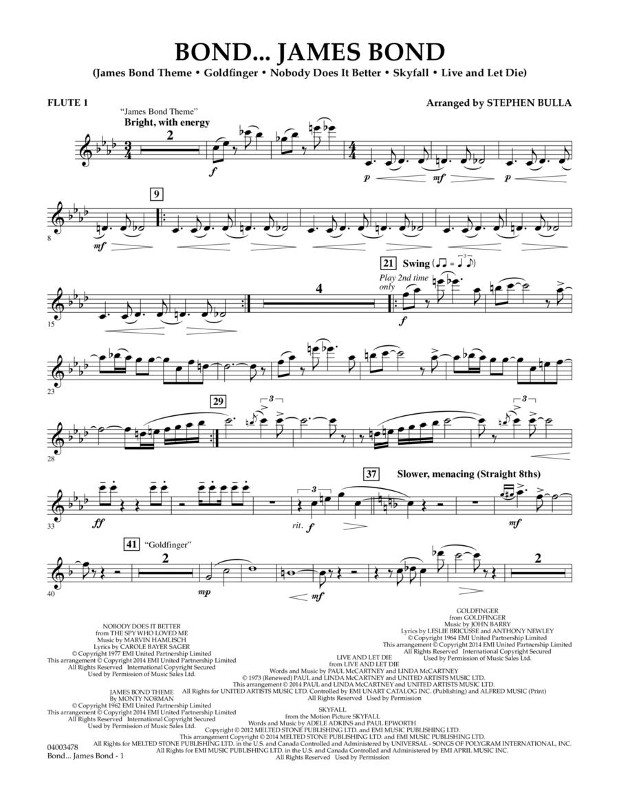 Bond... James Bond - Flute 1