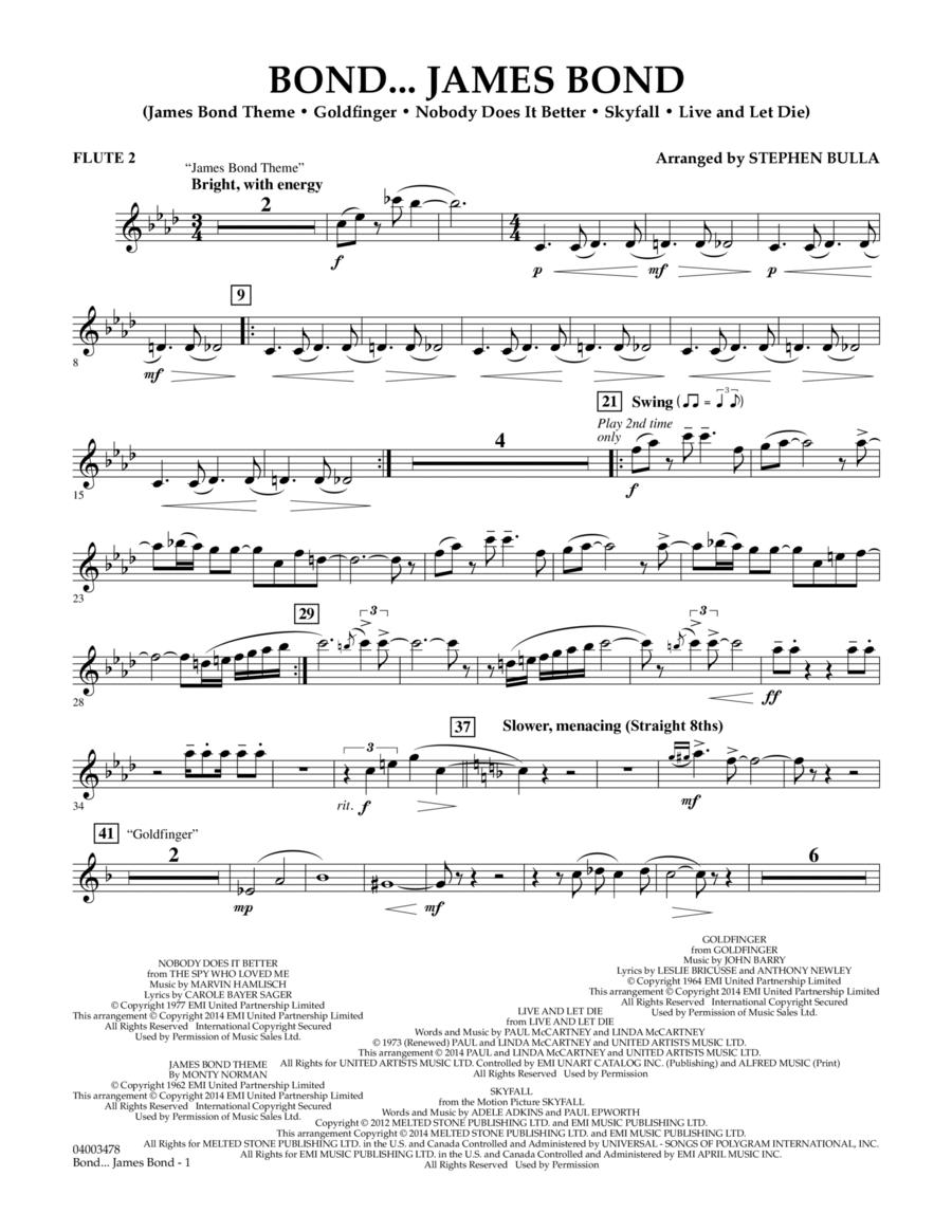 Bond... James Bond - Flute 2