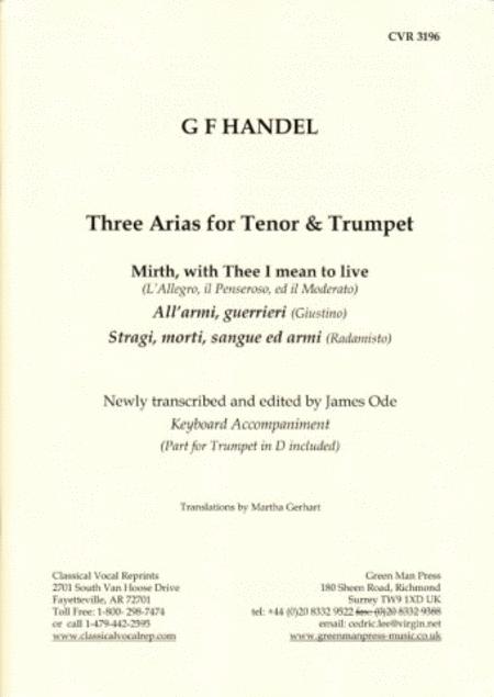 3 Arien fur Tenor und Trumpet