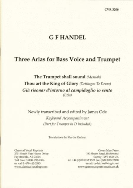 3 Arien fur Bass und Trumpet I