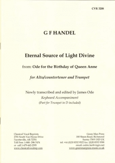 Eternal Source Alto/Trumpet in D