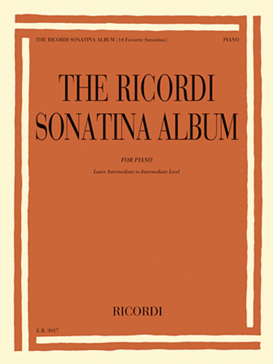 The Ricordi Sonatina Album