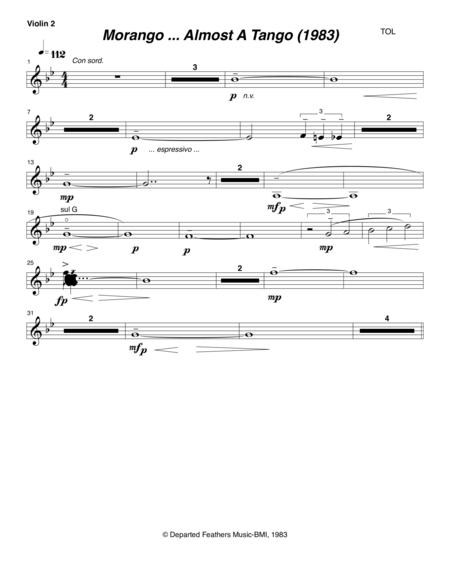 Morango ... almost a tango (1983) violin 2