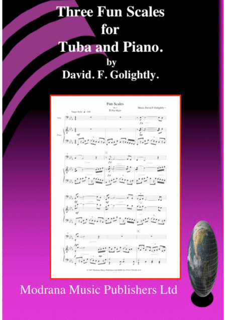 Three Fun Scales for Tuba and Piano