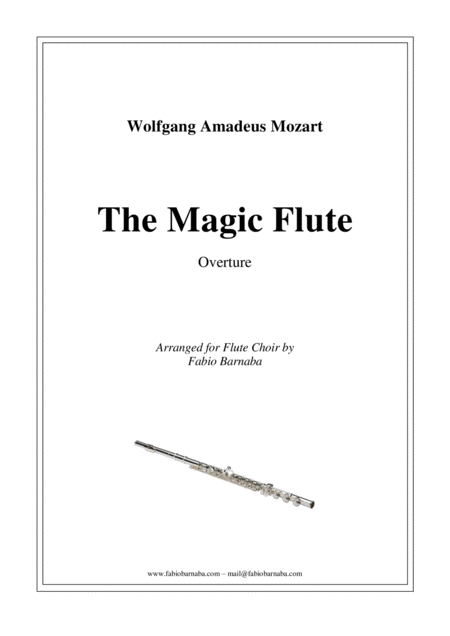 The Magic Flute - Overture for Flute Choir