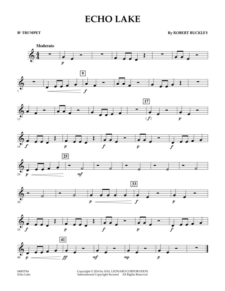 Echo Lake - Bb Trumpet