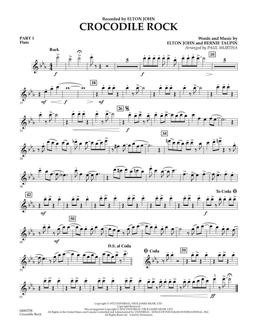 Crocodile Rock - Pt.1 - Flute