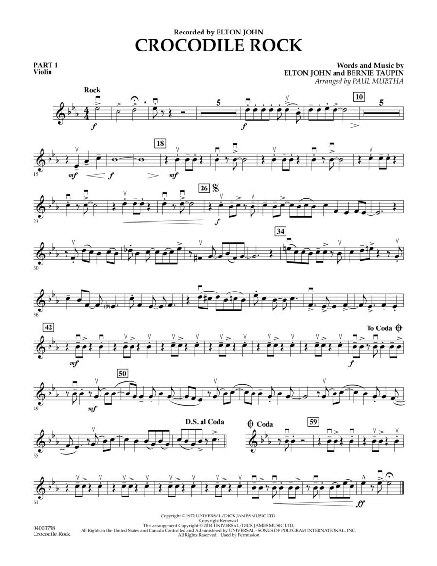 Crocodile Rock - Pt.1 - Violin