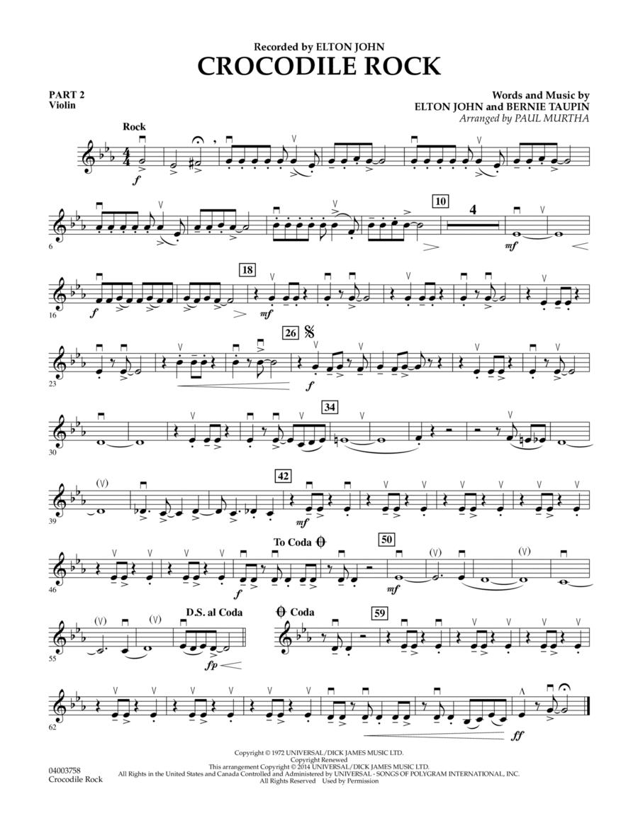 Crocodile Rock - Pt.2 - Violin