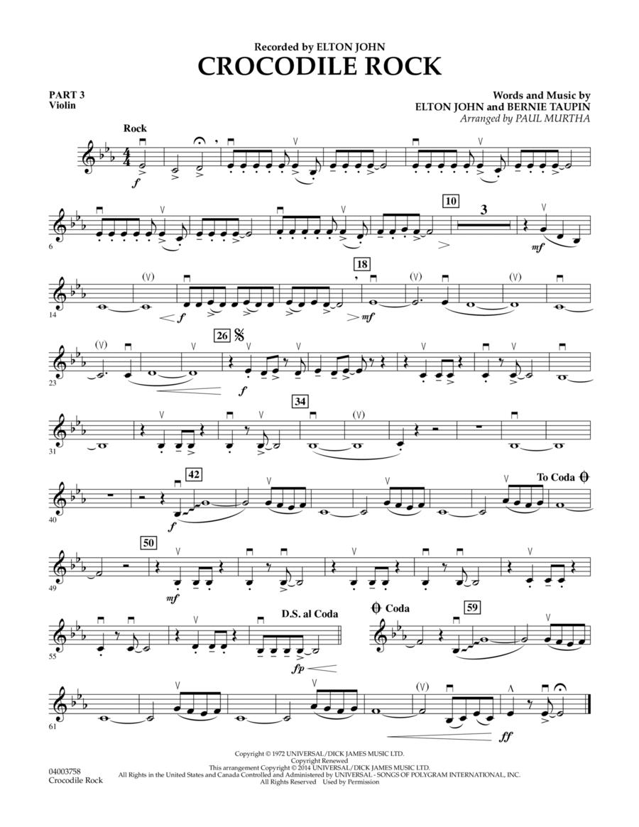 Crocodile Rock - Pt.3 - Violin