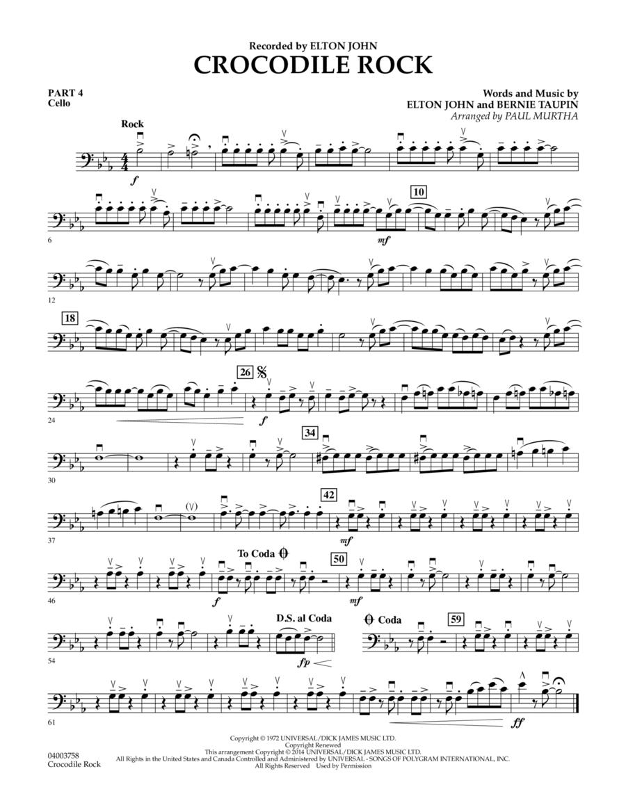 Crocodile Rock - Pt.4 - Cello