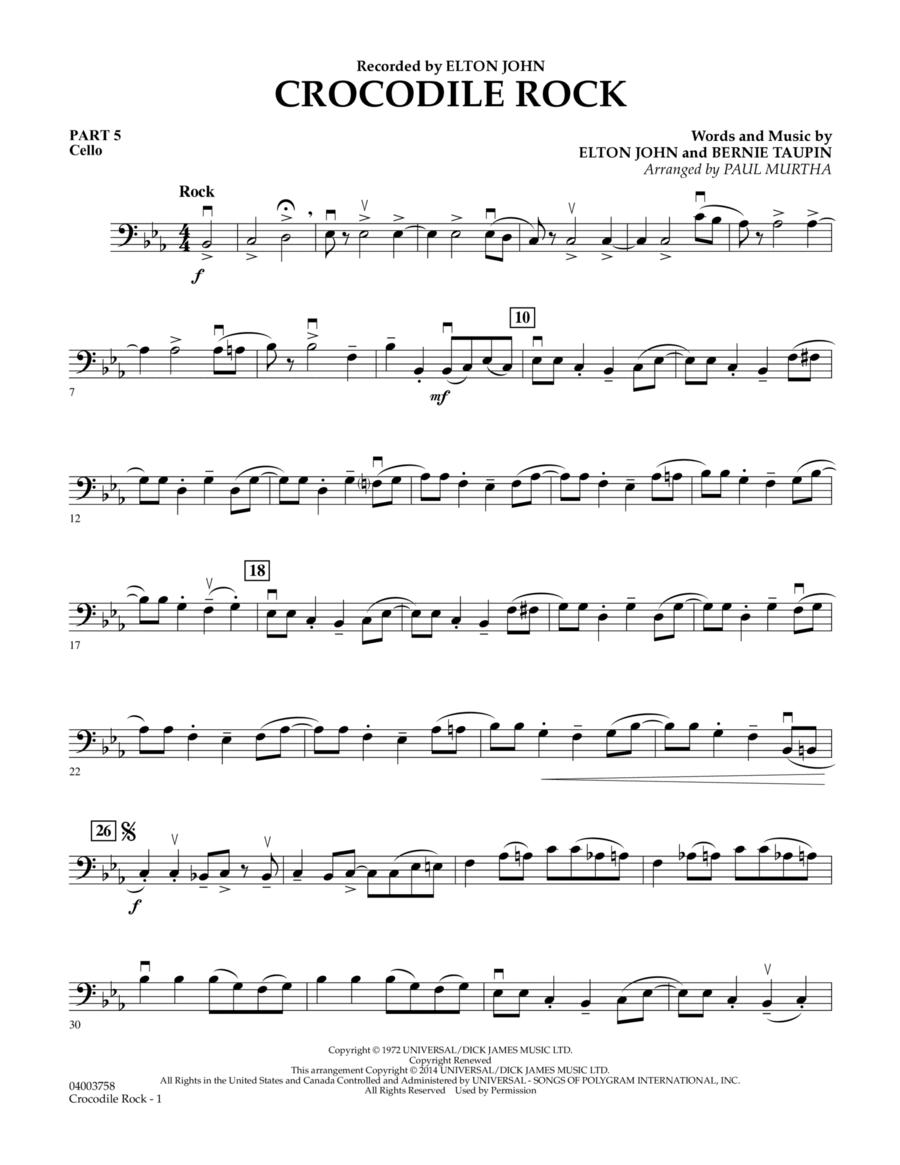 Crocodile Rock - Pt.5 - Cello