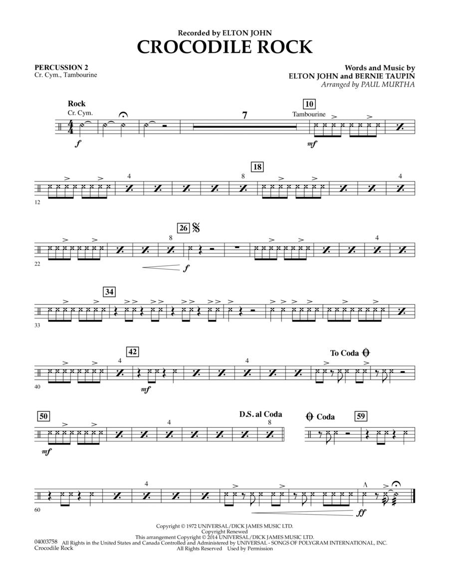 Crocodile Rock - Percussion 2