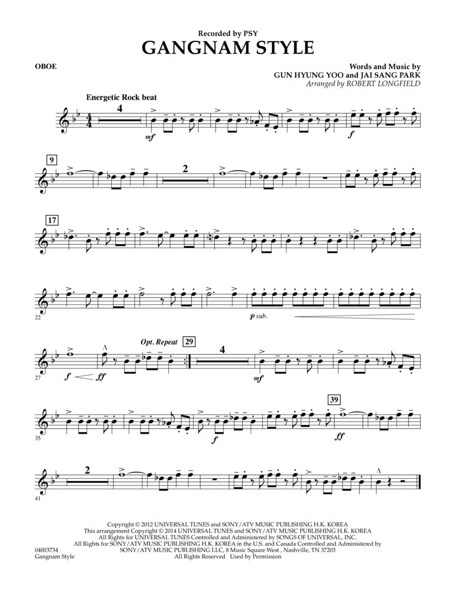 Gangnam Style - Oboe