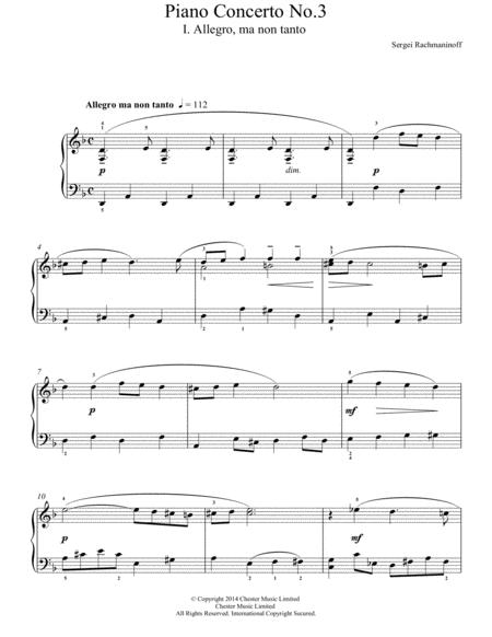 Piano Concerto No.3 - 1st Movement