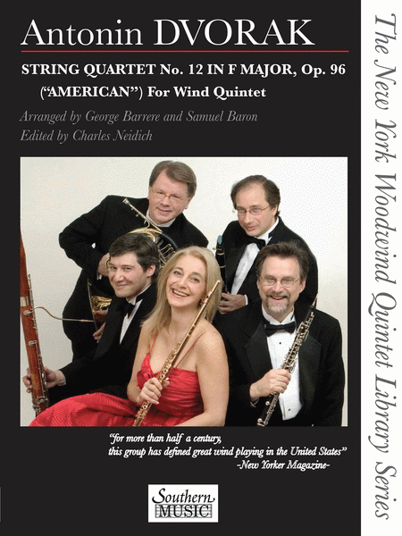 String Quartet No. 12 in F Major, Op. 96 (American) for Wind Quintet