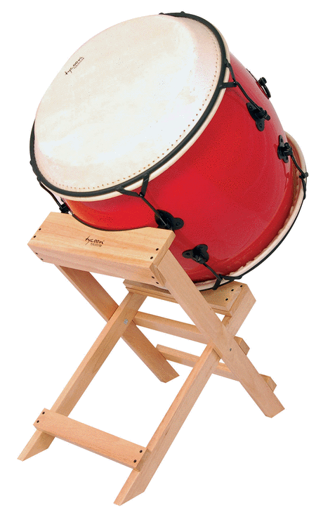 20 Nagado Daiko - Traditional Red Finish