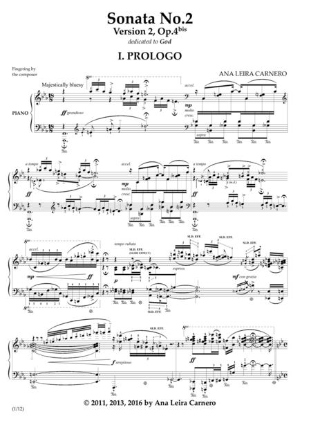 Piano Sonata No.2, Version 2