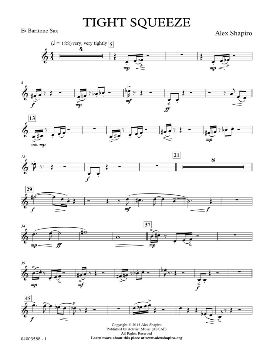 Tight Squeeze - Eb Baritone Saxophone