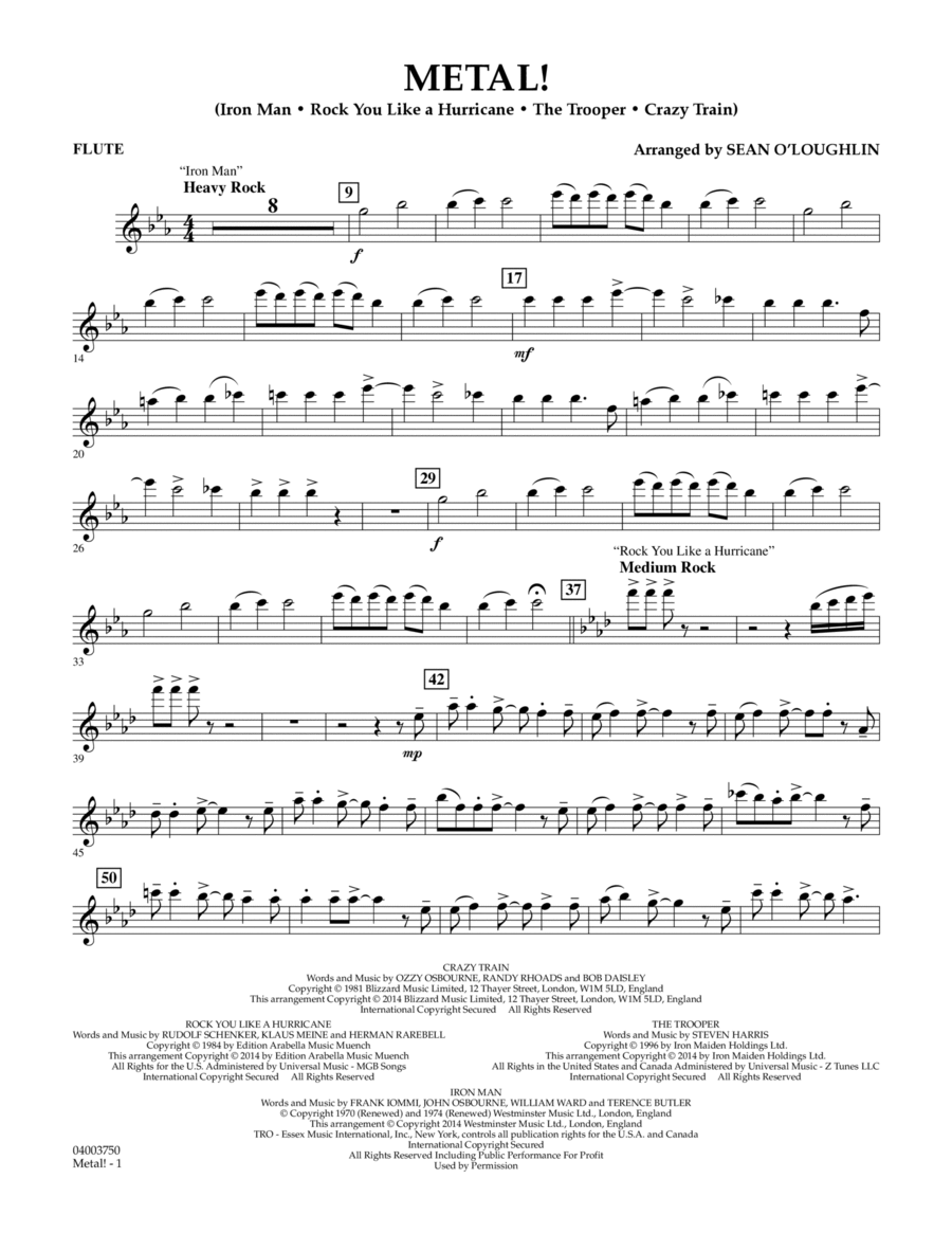 Metal! - Flute