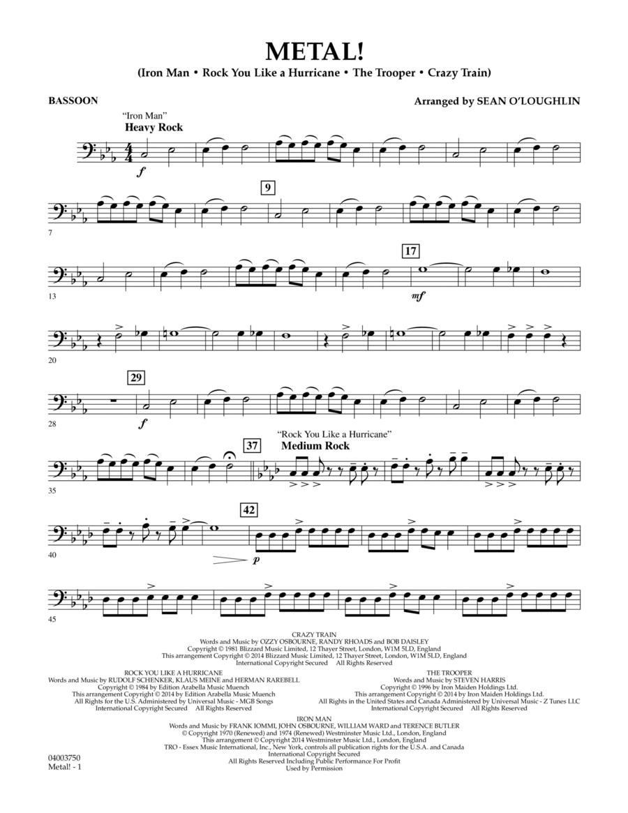 Metal! - Bassoon