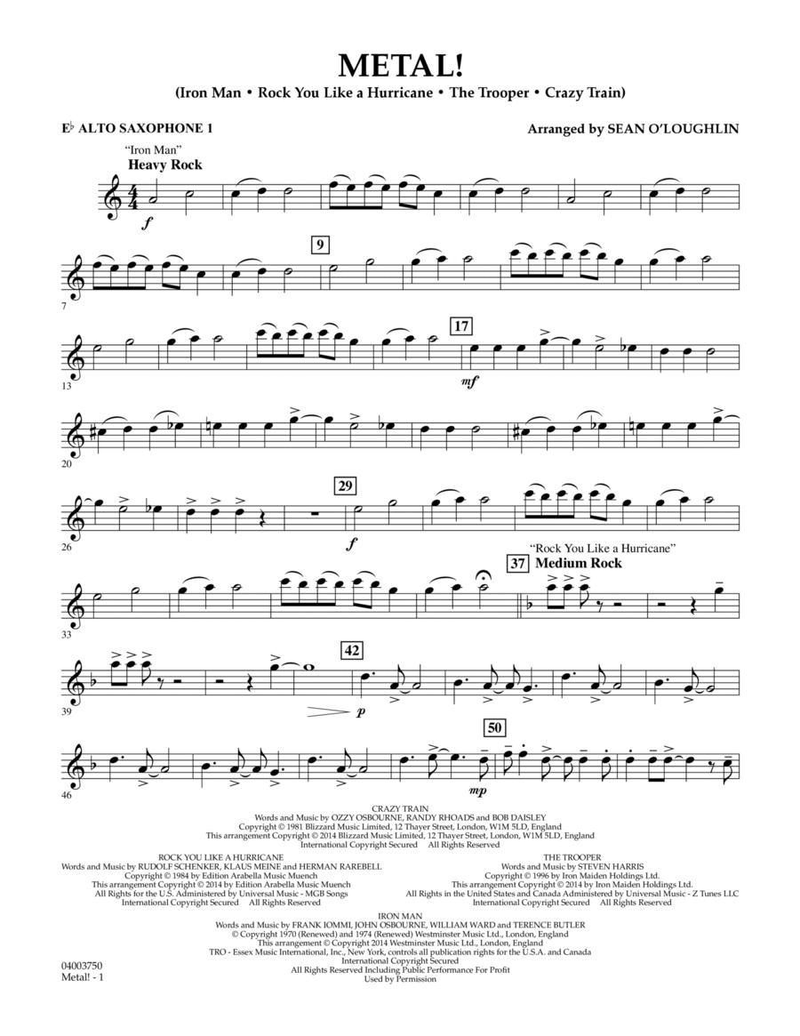 Metal! - Eb Alto Saxophone 1