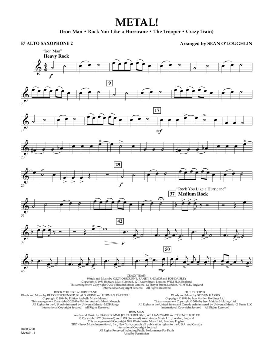 Metal! - Eb Alto Saxophone 2