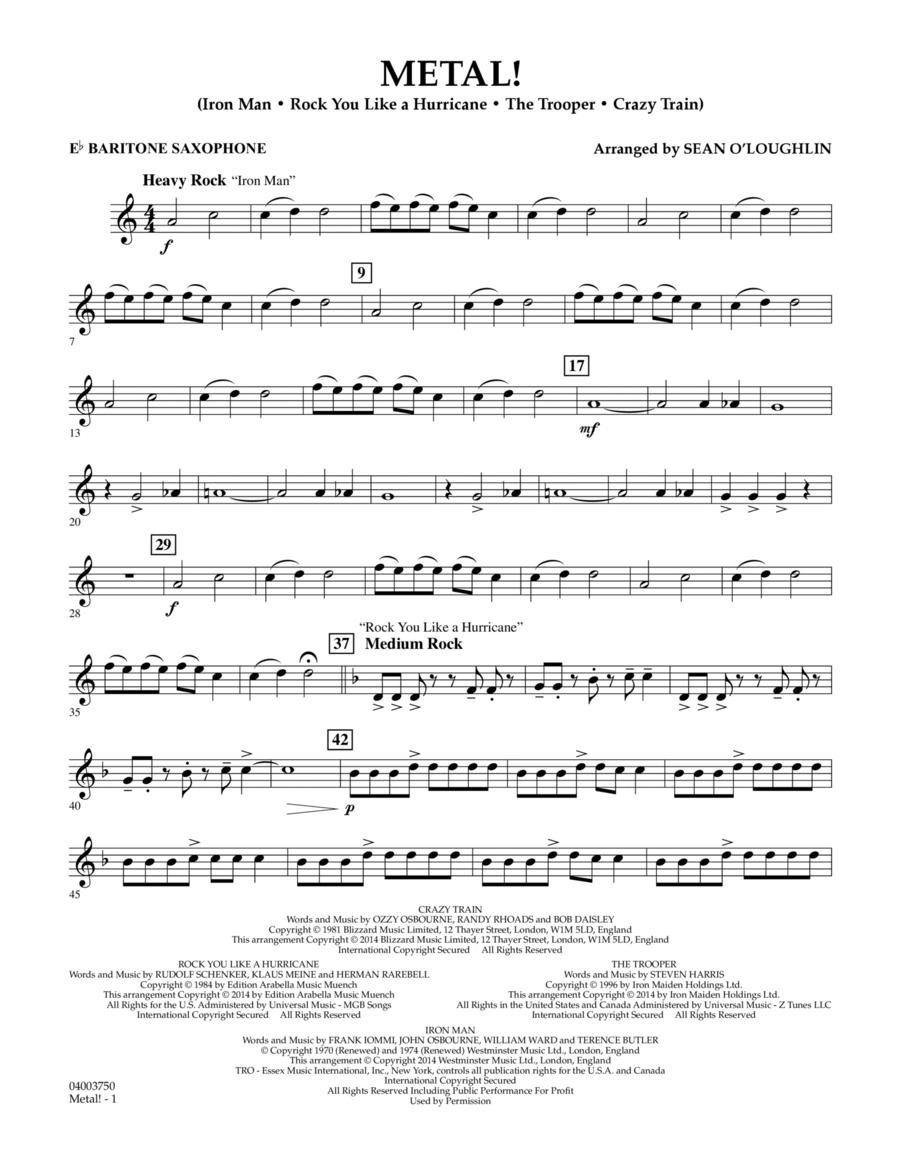 Metal! - Eb Baritone Saxophone