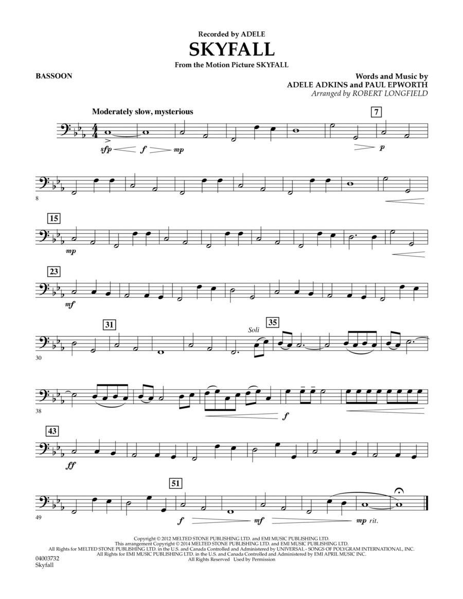 Skyfall - Bassoon