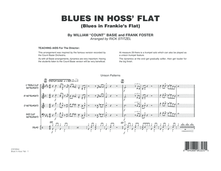 Blues in Hoss' Flat (Blues in Frankie's Flat) - Conductor Score (Full Score)