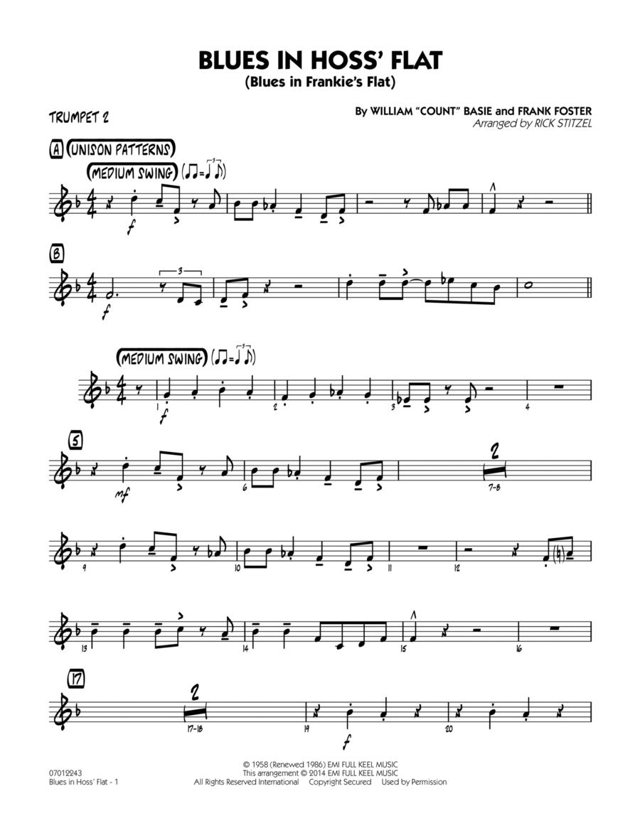 Blues in Hoss' Flat (Blues in Frankie's Flat) - Trumpet 2