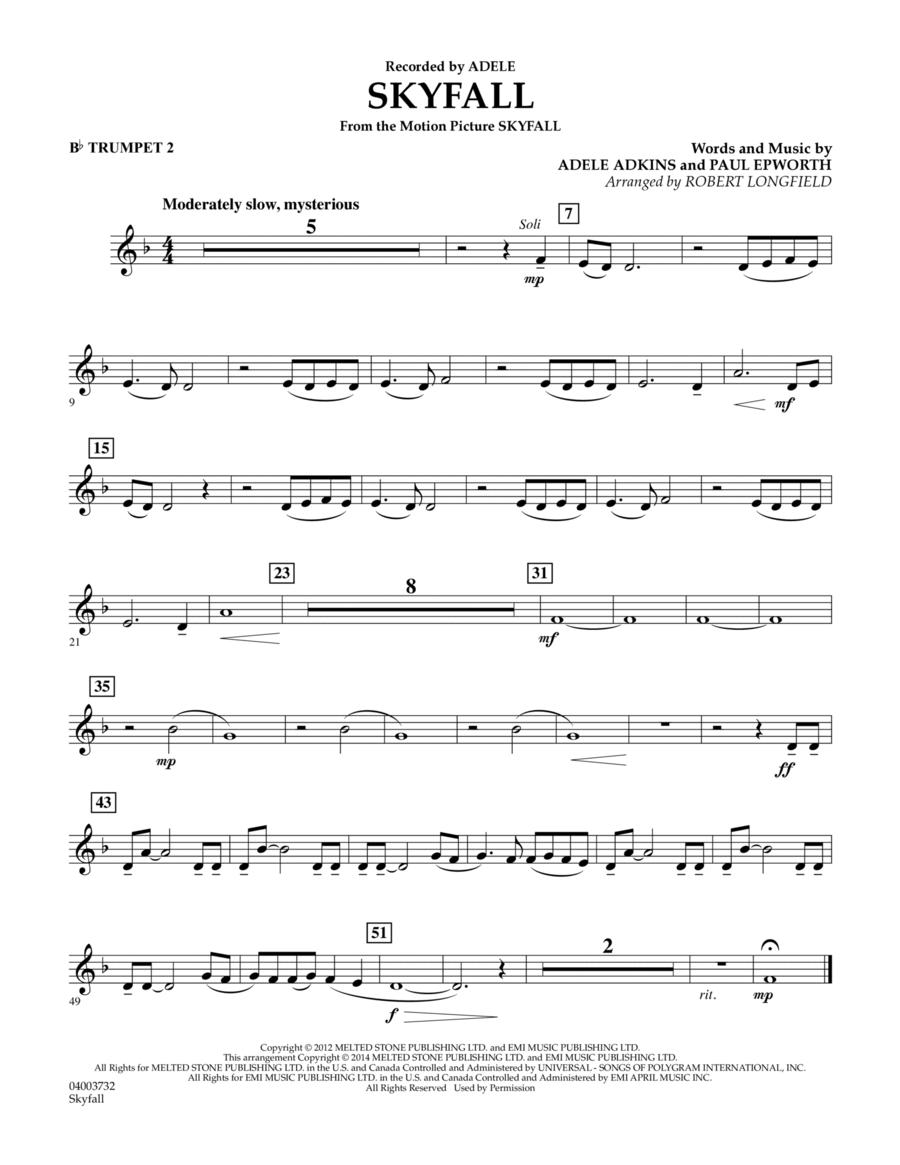 Skyfall - Bb Trumpet 2