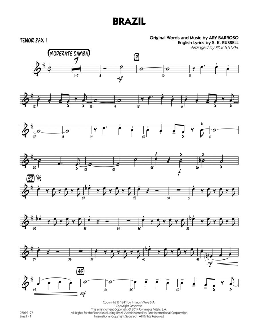Brazil - Tenor Sax 1