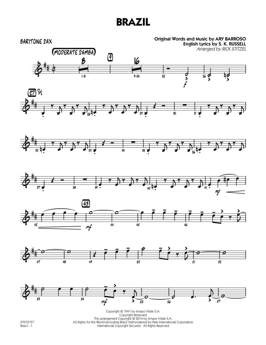 Brazil - Baritone Sax