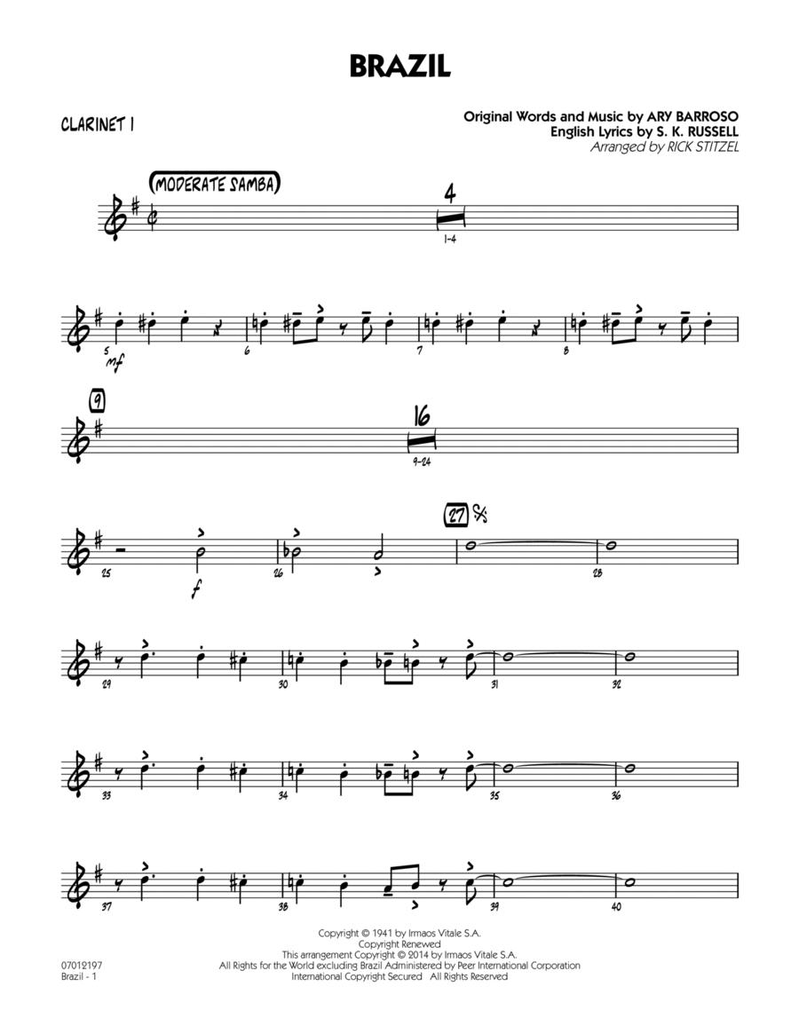 Brazil - Bb Clarinet 1