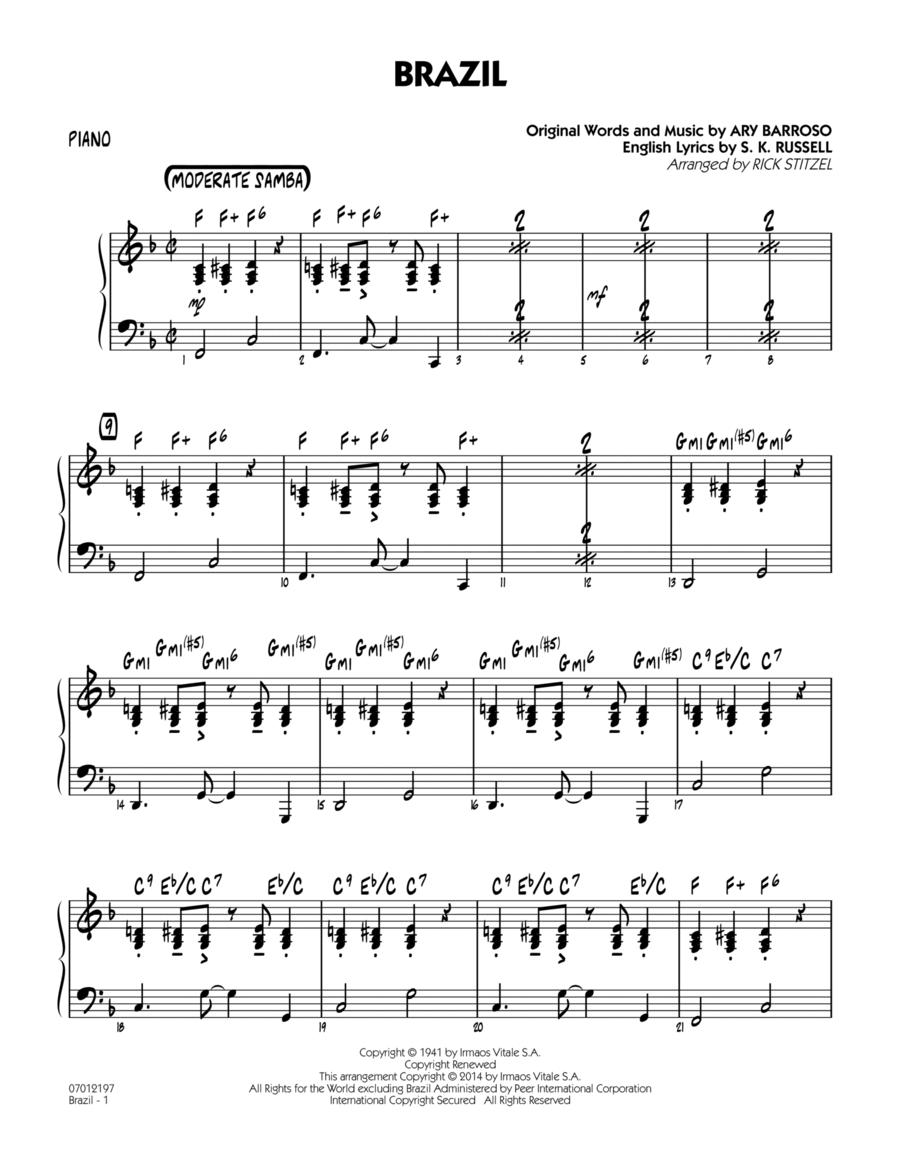 Brazil - Piano