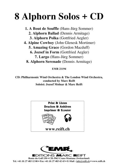 8 Alphorn Solos