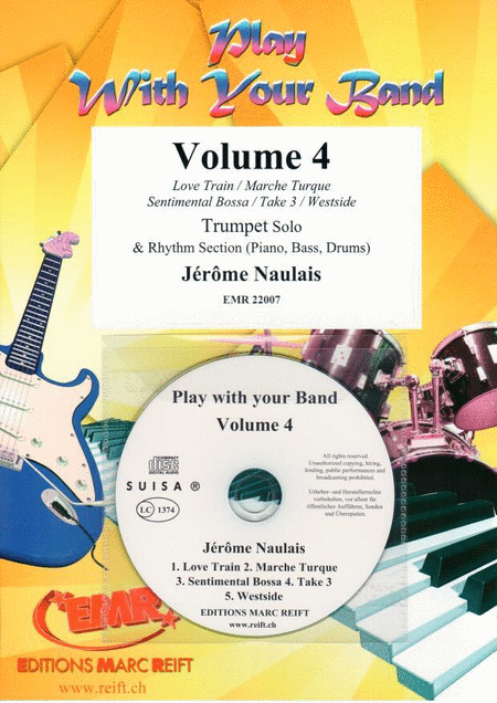 Play With Your Band Vol. 4 + CD Playback