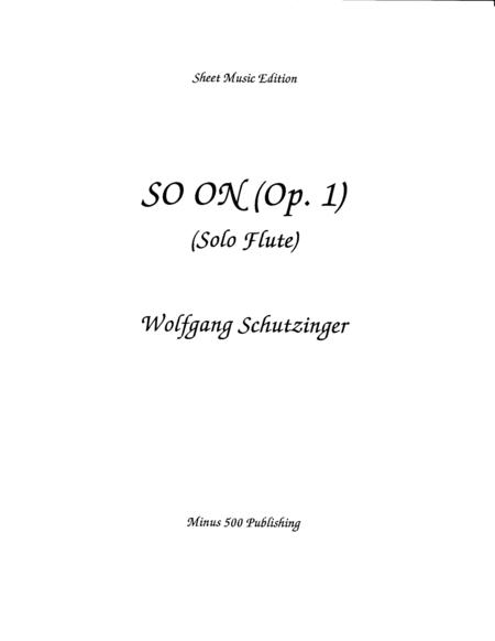 So On (Op 1)
