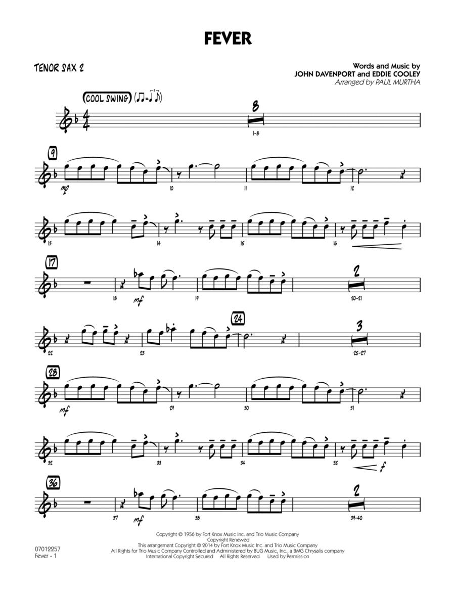 Fever - Tenor Sax 2
