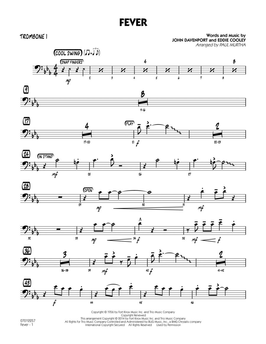Fever - Trombone 1