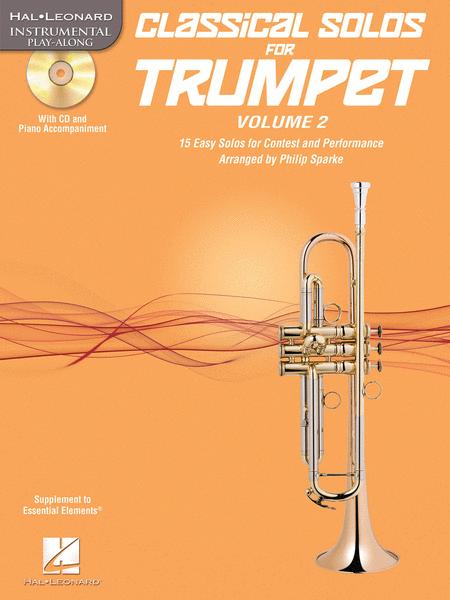 Classical Solos for Trumpet, Vol. 2