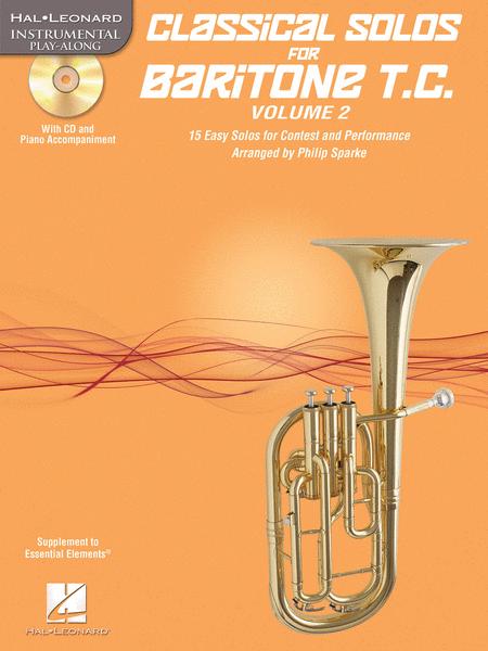 Classical Solos for Baritone T.C., Vol. 2