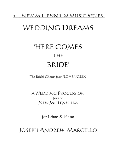 Here Comes the Bride - for the New Millennium - Oboe & Piano