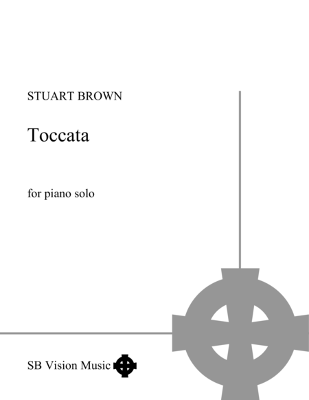Toccata for piano